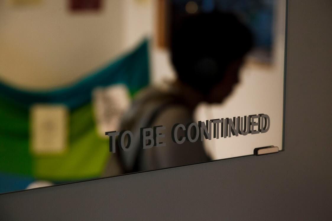 【展示】二人だけの国|6:TO BE CONTINUED|齋藤はぢめ